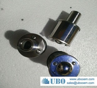 Npt Thread Water Strainer Slotted Wire Nozzle Filter