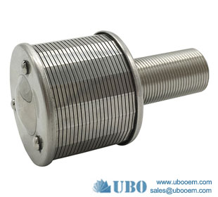 Johnson type wedge wire filter nozzle strainer used for water filtration system