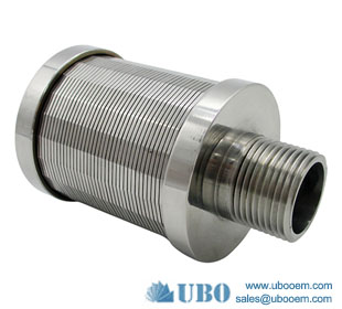 Welded wire Johnson type filter screen nozzle used in water filteration syetem