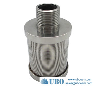 Welded Wire Johnson Filter Screen Nozzle for Water Filteration Syetem