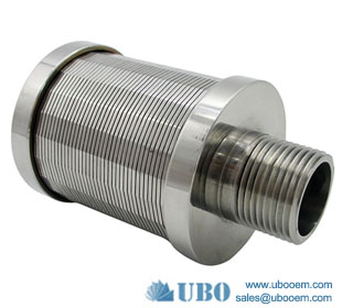 SS water strainer filter screen nozzles for mineral water plant