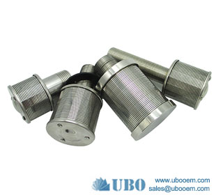 Filter For Water Treatment Wedeg Wire Screen Nozzle