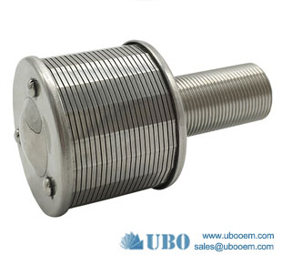 wedge wire filter nozzles for irrigation system