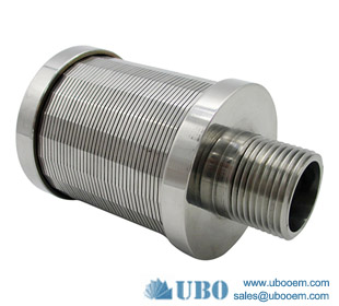 Stainless Steel Johnson Vee Wire Filter Nozzles for Water Distribution