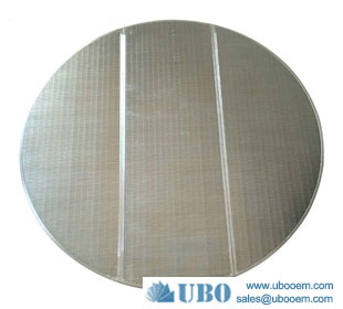 Wedge Wire Screen 0.75mm Slot False Bottom For Brewery