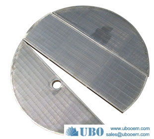 High Quality Lauter Tun Wedge Wire Screen Panel Johnson Screen for beer equipment