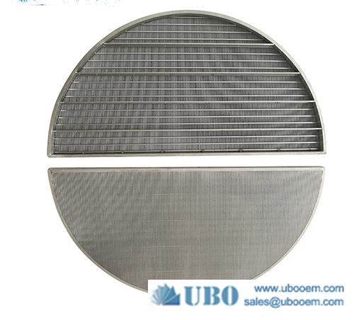 Wedge wrapped wire slot well johnson lauter tun screen panel filter for beer brewery