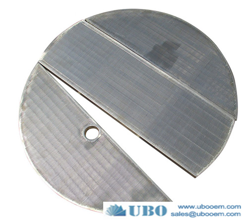 Stainless steel wedge wire mash tun lauter tun screen panel filter for malt processing