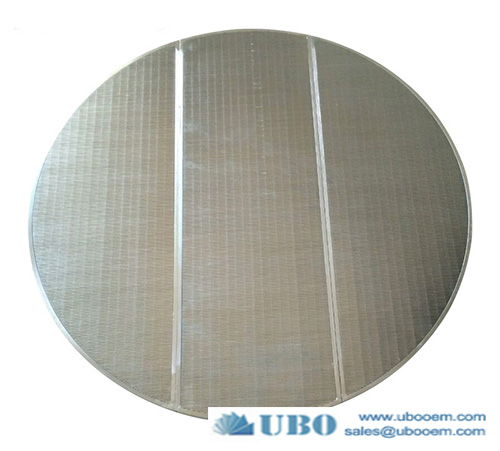Lauter tun sieve plate false bottom wedge wire screen panel stainless steel