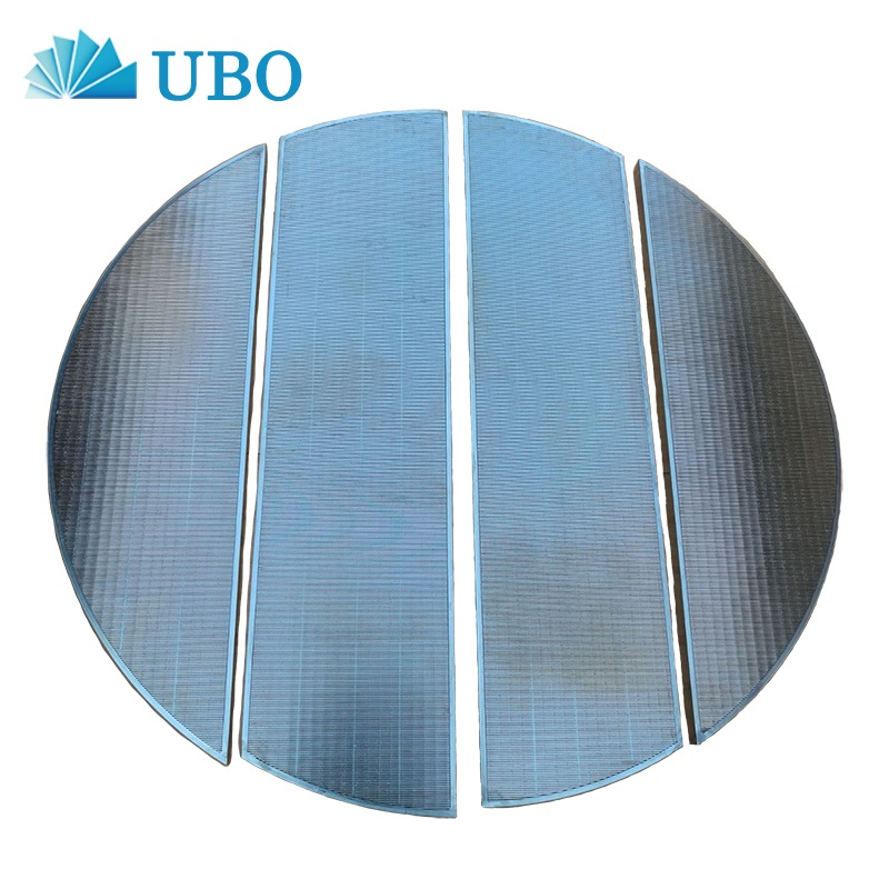 Stainless steel lauter tun wedge wire screen for beer production wort filtration