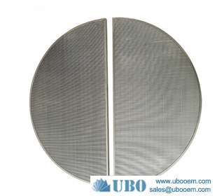 High Quality Lauter Tun Wedge Wire Screen Panel Johnson Screen