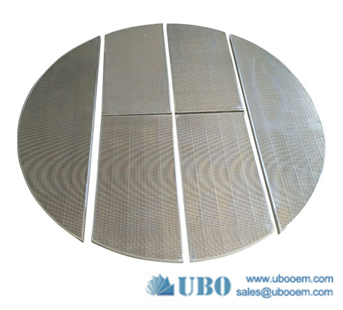 Stainless steel 304 Johnson type wedge wire Mash tun screen for malt production