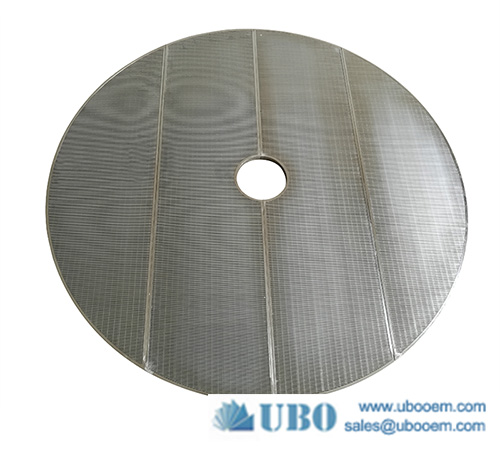 Wedge wire false bottom screen lauter tun screen for brewing systems