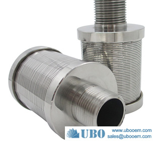 Stainless steel filter nozzle strainer