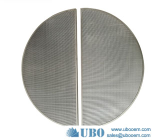 Johnson type wedge v wire lauter tun screen panel for brewing