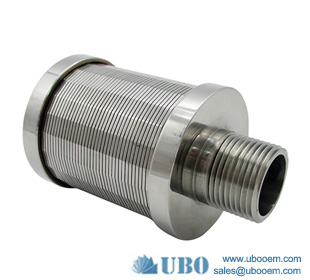 Stainless Steel Water Filter Nozzle Strainer for Water Treatment