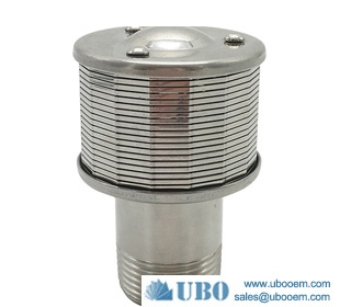 High pressure wedge v shape wire sand filter nozzles strainer
