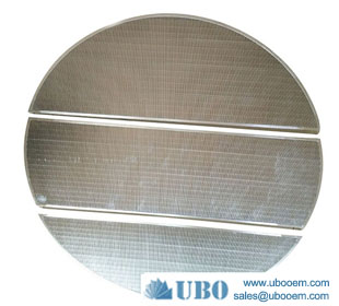 Wedge wire beer brewing screen mash/lauter tun screen false bottom sieve plate