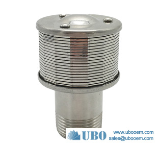 V shap water filter nozzle