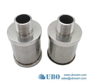 stainless steel slimline nozzle internal filters