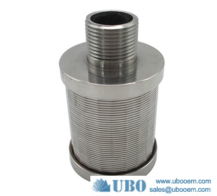 Steainless steel low carbon V wire screen Nozzle for Filtration