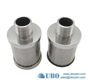 Johnson type wedge wire filter nozzle strainer used for food