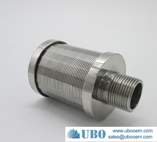 Water Treatment Wedge Wire Screen Filter Nozzle