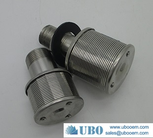 Wire Johnson type filter screen nozzle used in wastewater syetem