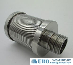 Wire Johnson type filter screen nozzle used in clearing water syetem