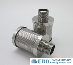 Water Treatment Wedge Wire Screen Nozzle Filter