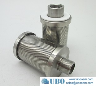 Wedge Wire Filter Nozzle for Wastewater Treatment