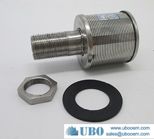 Structure of wedge wire filter nozzle