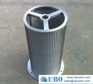 Wedge Wire Screen Cylinders for Paper Manufacture