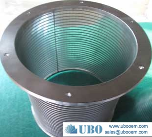 Stainless steel wire mesh screen cylinder wire wrapped screen filter pipe resin trap
