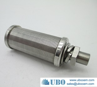 AISI 304 johnson water filter screen nozzle