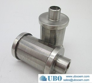 Johnson water filter nozzle used for Ion exchanger