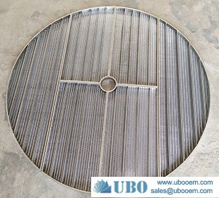 Wedge wire lauter tun screens for brewing tank false bottom