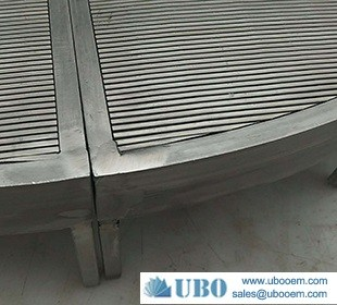 Wedge wire lauter tun screen for beer equipment