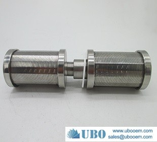 Stainless steel sugar mill filter nozzle wedge wire screen filter