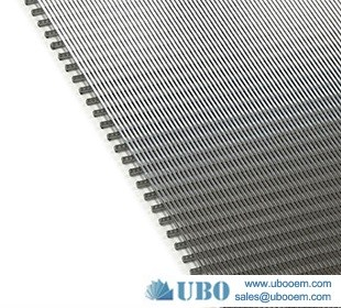 Stainless steel wedge wire soltted sieve screen plate