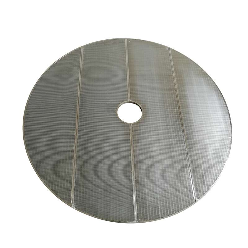 Welded ss wedge wire brewery lauter tun false bottom