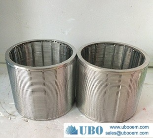 SS wedge wire wrapped screen tube manufacturer