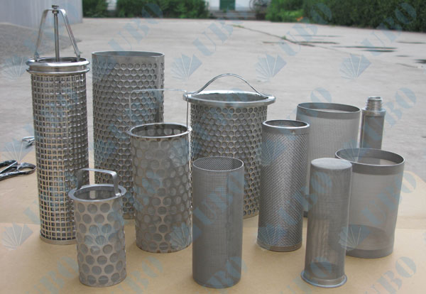 Filter Element Basket Filter Screen Basket Filter Ubo