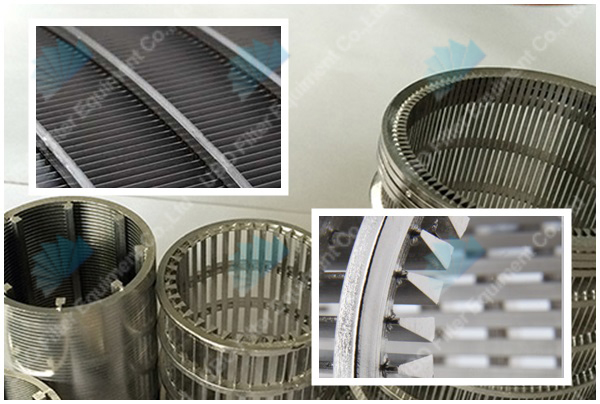 Woven wedge wire screens
