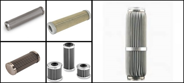 Sintered WIre Mesh Candle Filter