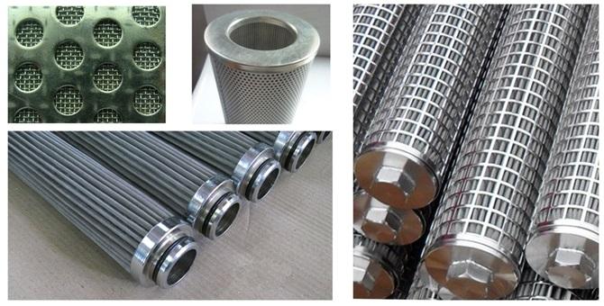Reusable Sintered Metal Mesh Filter