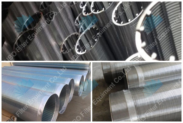 wedge wire screen for refining petrochemical