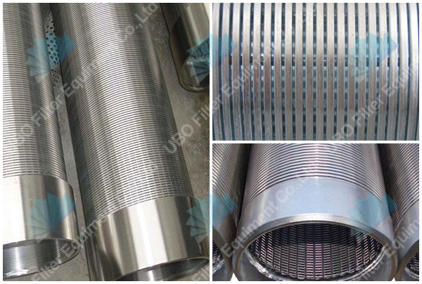 Profile Wire Slotted Tubes