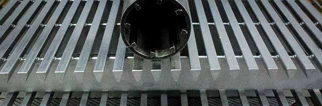 Wrought Stainless Steel Wire screen slot for water Intake