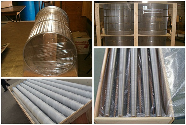 wedge wire screen for mining mineral processing